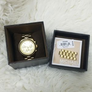 Michael Kors Gold Chain Link Watch